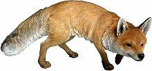Vivid Arts Real Life Fuchs, naturgetreu, Kunstharz Gartendeko (klein)