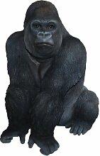 Vivid Arts Real Life Gorilla, Kunstharz Gartendeko