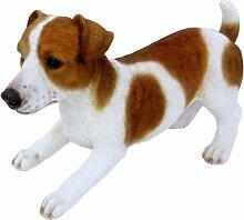 Vivid Arts Real Life Jack Russell Hund  Kunstharz Gartendeko (Größe A)