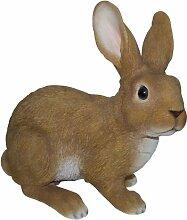 Vivid Arts Real Life Kaninchen, groß, Kunstharz Gartendeko (Größe B)
