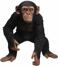 Vivid Arts Schimpanse, stehend, Kunstharz