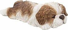 Vivid arts- Schlafsack Pet pals- braun Shih Tzu Pup