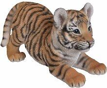 Vivid Arts Tigerjunges, verspielt, Kunstharz