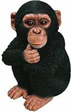 Vivid Arts XRL-CHM2-F Schimpansen-Baby, Kunstharz