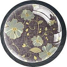 Vivid FloralKabinett Knöpfe Schubladenknopf,