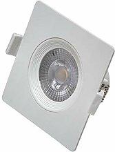 Vivida - quadratischer LED-Einbaustrahler, weiß