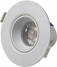 Vivida - Runder LED-Einbaustrahler, weiß 10W