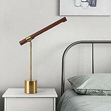 VIWIV Schreibtischlampe Lampe Nachahmung Holz