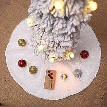 VJUKUBWINE Luxus-Plüsch-Teppich-Weihnachtsbaum