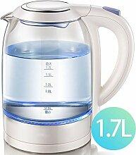 VKFX Glas-wasserkocher 1,7 L Akku-glaskessel