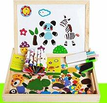 Vkook Lernspielzeug Kreative Holz Magnetische