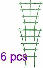 VKTY Garten-Spalier für Kletterpflanzen, 4 Stück