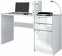 Vladon Schreibtisch Computertisch Büromöbel