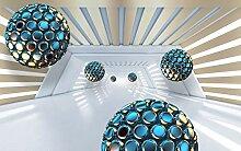 VLIES Fototapete-ABSTRAKT DESIGN-450x280 cm-9