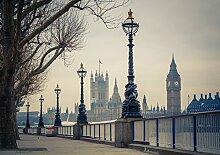 VLIES Fototapete BIG BEN LONDON-(1661V)-Größe