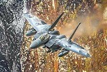 VLIES Fototapete-F15 STRIKE EAGLE-350x260 cm-7
