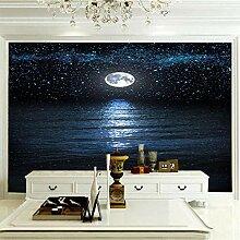 Vlies Fototapete Fotomural Mond Leinwand Wandbild