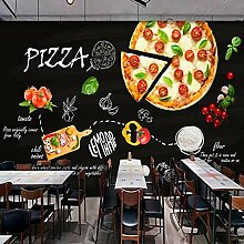 Vlies Fototapete Fotomural Pizza 3D Wandbilder
