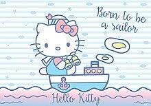 VLIES Fototapete-HELLO KITTY-416x254 cm-4