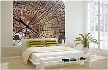 Vlies Fototapete HOLZ 220 x 220 cm   Wandbilder XXL - Riesen Wandbild - Wand Dekoration - Vliestapete - Wandtapete   PREMIUM VLIES QUALITÄT