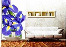 Vlies Fototapete IRIS 110 x 220 cm | Wandbilder XXL - Riesen Wandbild - Wand Dekoration - Vliestapete - Wandtapete | PREMIUM VLIES QUALITÄT