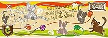 Vlies Fototapete KÄTZCHEN 330 x 110 cm   Wandbilder XXL - Riesen Wandbild - Wand Dekoration - Vliestapete - Wandtapete   PREMIUM VLIES QUALITÄT