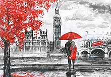 VLIES Fototapete-LONDON DESIGN-312x219cm-3