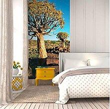 Vlies Fototapete NAMIBIA 110 x 220 cm | Wandbilder XXL - Riesen Wandbild - Wand Dekoration - Vliestapete - Wandtapete | PREMIUM VLIES QUALITÄT