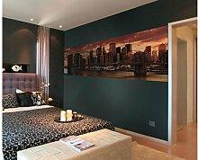 Vlies Fototapete NEW YORK 330 x 110 cm   Wandbilder XXL - Riesen Wandbild - Wand Dekoration - Vliestapete - Wandtapete   PREMIUM VLIES QUALITÄT
