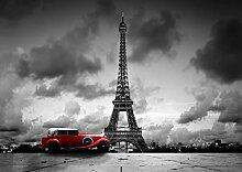 VLIES Fototapete-PARIS-EIFELFELTURM-250x186 cm-5