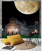 Vlies Fototapete PISA 220 x 220 cm | Wandbilder XXL - Riesen Wandbild - Wand Dekoration - Vliestapete - Wandtapete | PREMIUM VLIES QUALITÄT