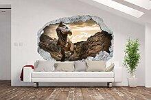 fototapeten 3d wandillusion g nstig online kaufen lionshome. Black Bedroom Furniture Sets. Home Design Ideas