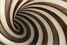 Vlies Fototapete SPIRALTUNNEL 330 x 220 cm   Wandbilder XXL - Riesen Wandbild - Wand Dekoration - Vliestapete - Wandtapete   PREMIUM VLIES QUALITÄT
