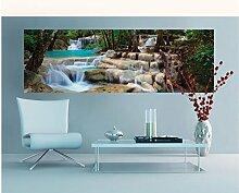 Vlies Fototapete WASSERFALL 330 x 110 cm   Wandbilder XXL - Riesen Wandbild - Wand Dekoration - Vliestapete - Wandtapete   PREMIUM VLIES QUALITÄT