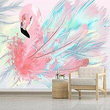 Vlies Fototapeten Flamingo 3D Wandbilder Vlies