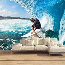 Vlies Fototapeten Surfen 3D Wandbilder Vlies
