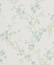 Vlies Tapete Erismann FAME 6933-18 Floral Blumen