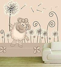 Vlies Tapete Fototapete Kinderzimmer Schaf