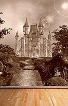 Vlies Tapete Fototapete Kinderzimmer Schloss Farbe