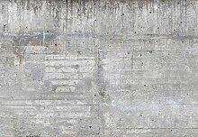 Vlies Tapete / Tapete * Beton / Wand / Mauer /