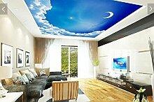 Vlies Tapete Wandbilder Blue Skies With White
