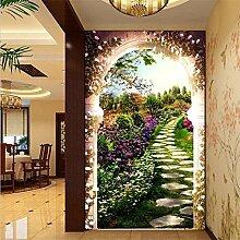 Vlies Tapete Wandbilder The Garden