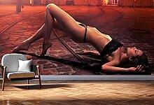 Vlies Tapete XXL Poster Fototapete Panorama Erotik