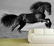 Vlies Tapete XXL Poster Fototapete Pferd Friese