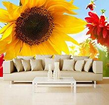 Vlies Tapete XXL Poster Fototapete Sonnenblume