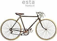 Vlies Wandbild altes Fahrrad - 158807 - von ESTAhome.nl