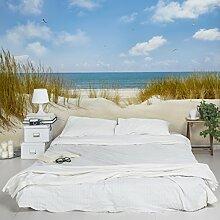 Vliestapete–Strand bei der