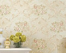 Vliestapete 3D Hellgold 290101 Tapete Wallpaper