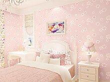 Vliestapete 3D Landhausvilla Blume 0.53X9.5M Rosa