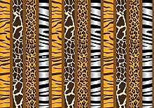 Vliestapete Afrika Tiermuster 400cm x 280cm